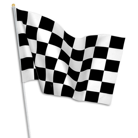 "11"" X 17"" Checkered Flags"