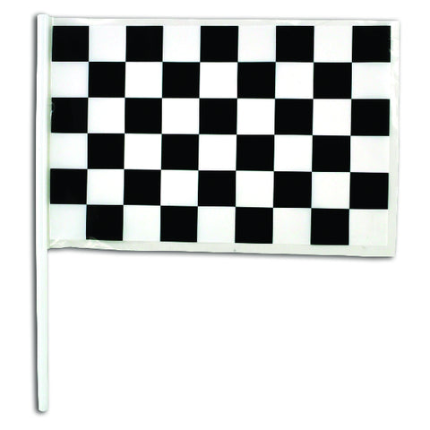 "4"" x 6"" Checkered Flags"