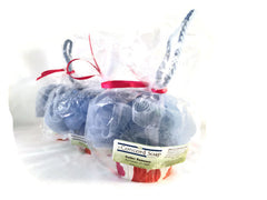 NEW Amber Romance Handmade Cupcake Soap - cold process, blue