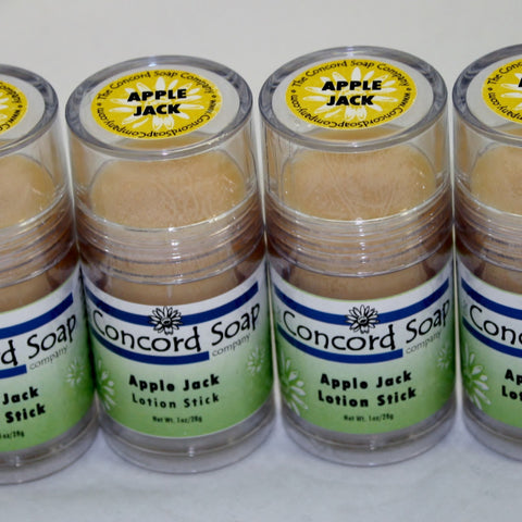 Apple Jack Handmade Solid Lotion Stick