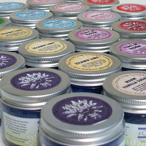 Eucalyptus and Spearmint Handmade Body Butter - made with whipped organic shea butter