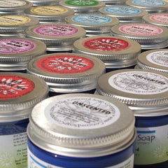 Apple Jack Handmade Body Butter - made with whipped organic shea butter