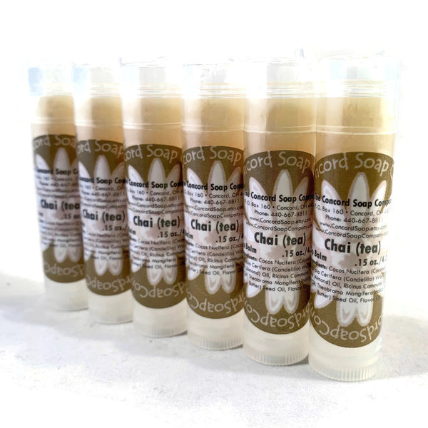 NEW Chai (tea) Handmade Lip Balm Stick