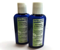 NEW Eucalyptus and Spearmint Handmade Liquid Hand Soap and Body Wash