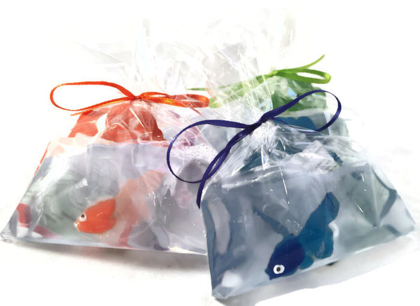 NEW Fruity Bubblegum Bagged Carnival Fish Soap, 4 oz