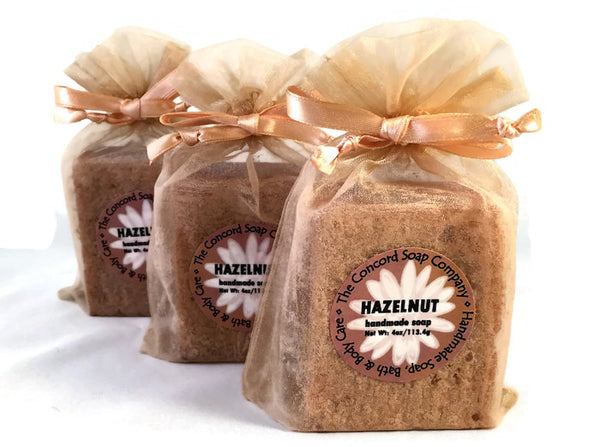 Hazelnut Handmade Cold Process Soap Bar, 4oz