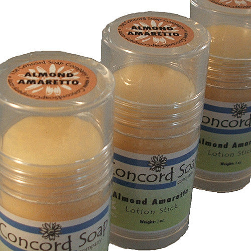 Almond Amaretto Handmade Solid Lotion Stick