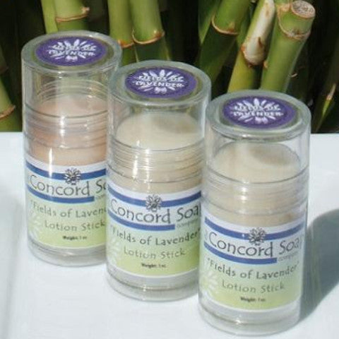 Fields of Lavender Handmade Solid Lotion Stick