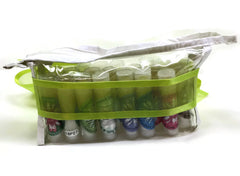 NEW Lip Balm Lover Gift Set - 20 handmade lip balm sticks in a zippered vinyl travel bag