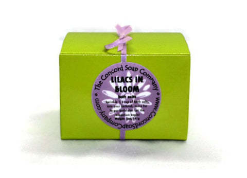 Lilacs in Bloom Handmade Bath Salts, 5oz