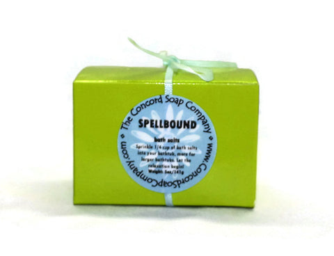 Spellbound Handmade Bath Salts, 5oz
