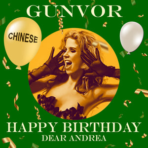 ANDREA - CHINESE Happy Birthday Video