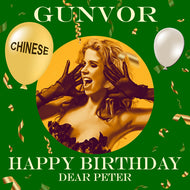 PETER - CHINESE Happy Birthday Video