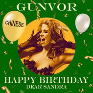 SANDRA - CHINESE Happy Birthday Video