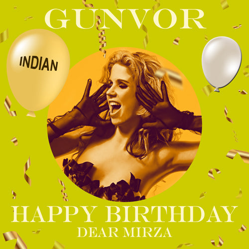 MIRZA - INDIAN Happy Birthday Video