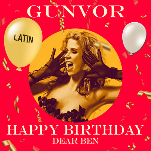 BEN - LATIN Happy Birthday Video