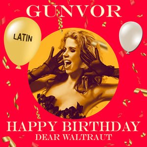 WALTRAUT - LATIN Happy Birthday Video