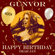 JAN - ROCK Happy Birthday Video