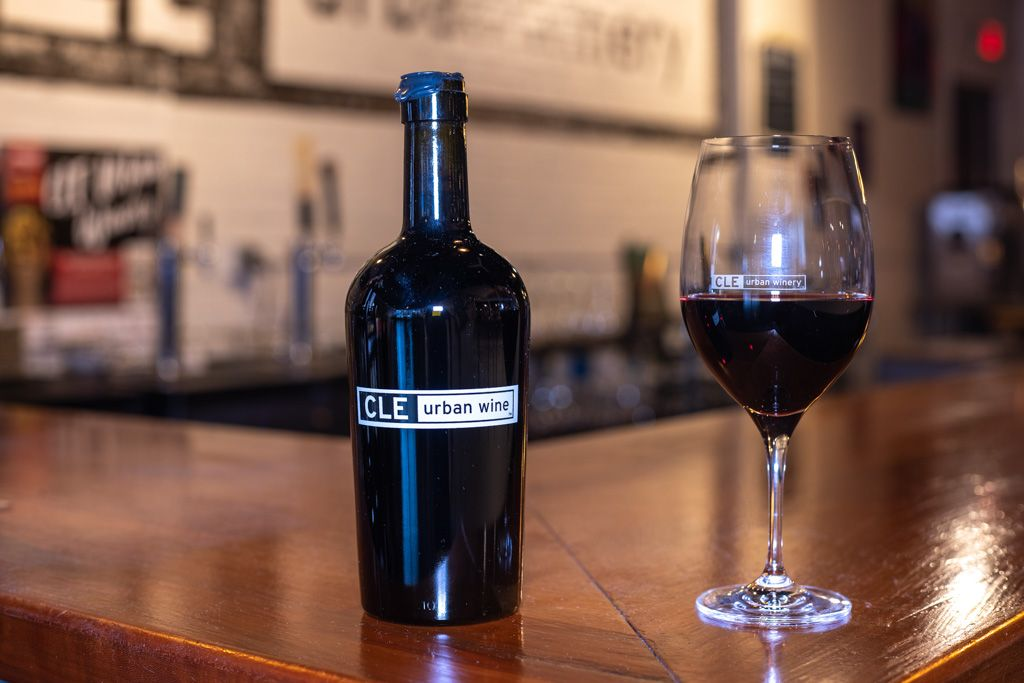 CLE urban wine: Bourbon Barrel-Aged Red Blend