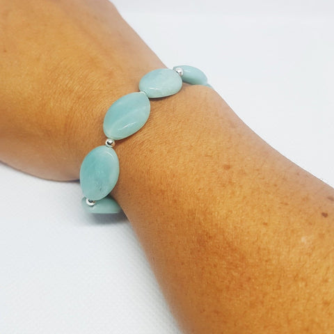 Beautiful Amazonite Bracelet - MCA Design by Maria