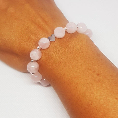 Rose Quartz Bracelet - MCA Design by Maria