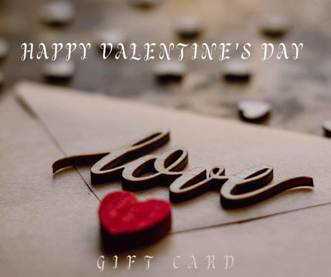 Valentine's E-Gift Card - MCA Design by Maria