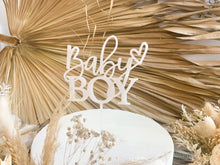 Load image into Gallery viewer, Baby Boy - Cake Topper