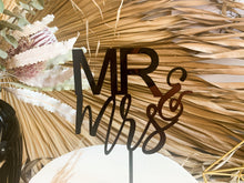 Load image into Gallery viewer, Mr & Mrs Cake Topper