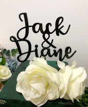 Load image into Gallery viewer, Custom Names Cake Topper