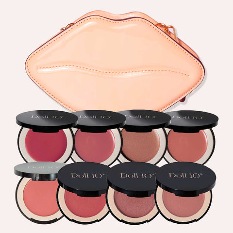 HydraGel Cream Blush 8-Piece Collection + Bag