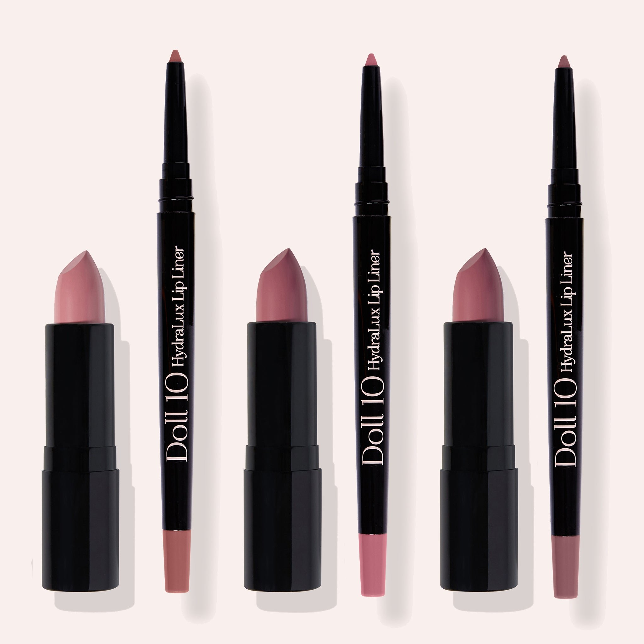 Be In The Moment 6-Piece Lip & Liner Collection
