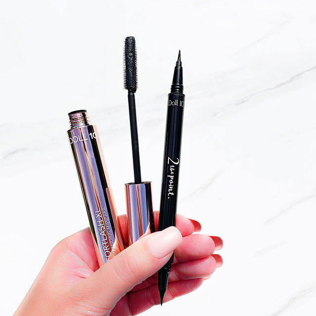 Effortlash XL & 2 the Point Eyeliner Duo