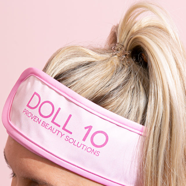 Doll 10 Spa Wrap Headband