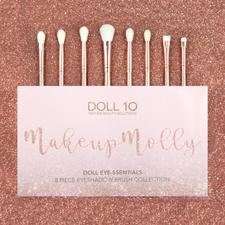 Doll 10 x MakeupMolly Doll Eye-ssentials Brush Collection