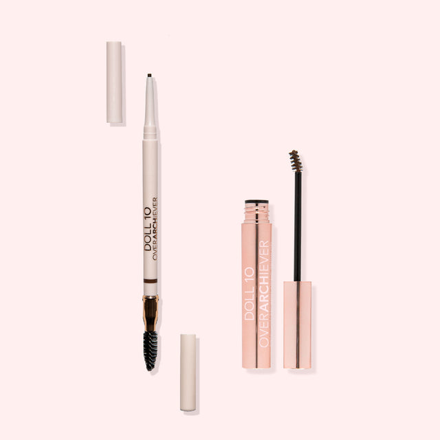 OverARCHiever Precision Microblading Brow Pencil & Brow Gel Duo