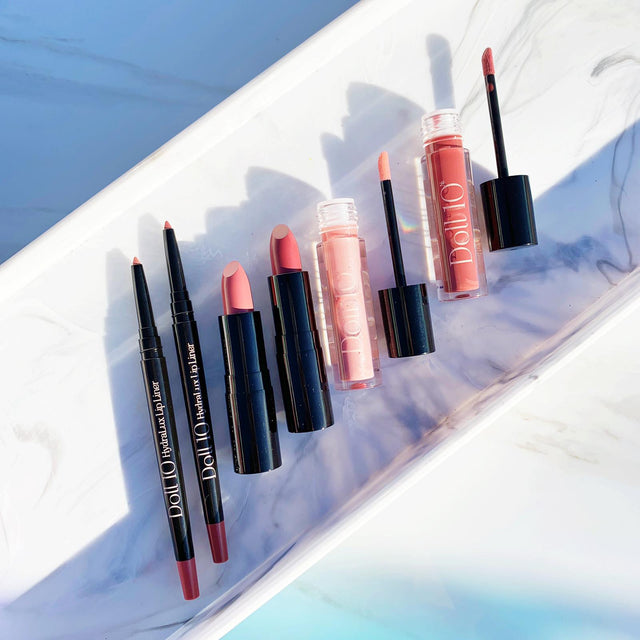 Lip Halo Lipstick, Liner & Gloss Collection