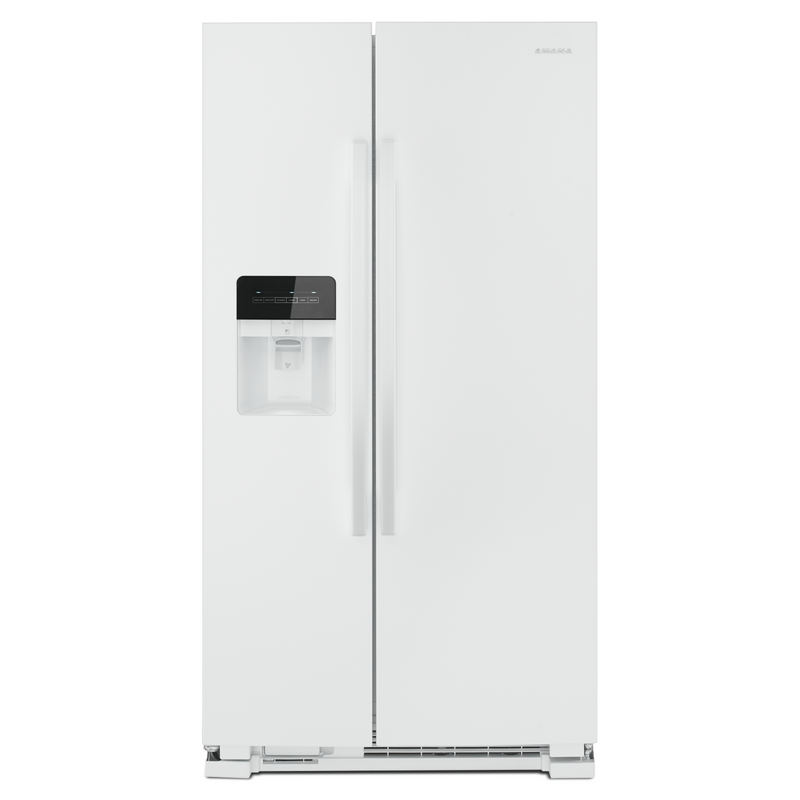 33-inch Side-by-Side Refrigerator with Dual Pad External Ice and Water Dispenser ASI2175GRW