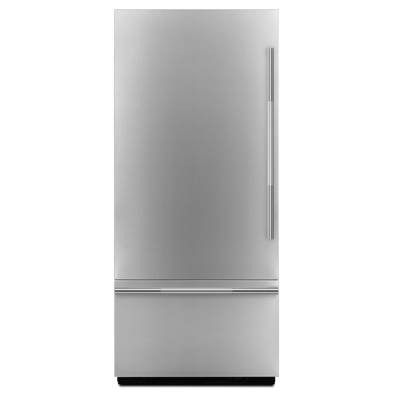 "Rise™ 36"" (91.4 cm) Fully Integrated Built-In Bottom-Freezer Refrigerator Panel-Kit JBBFL36NHL"