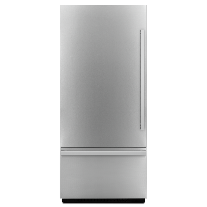 "NOIR™ 36"" Fully Integrated Built-In Bottom-Freezer Left-Hand Door Swing JBBFL36NHM"