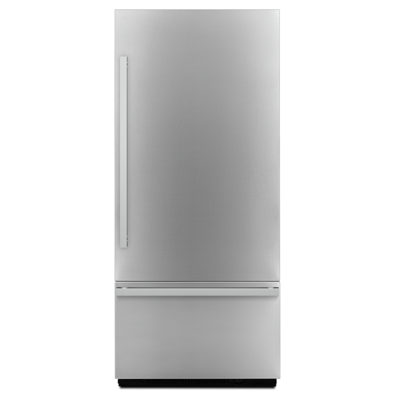 "Noir™ 36"" (91.4 cm) Fully Integrated Built-In Bottom-Freezer Refrigerator Panel-Kit JBBFR36NHM"