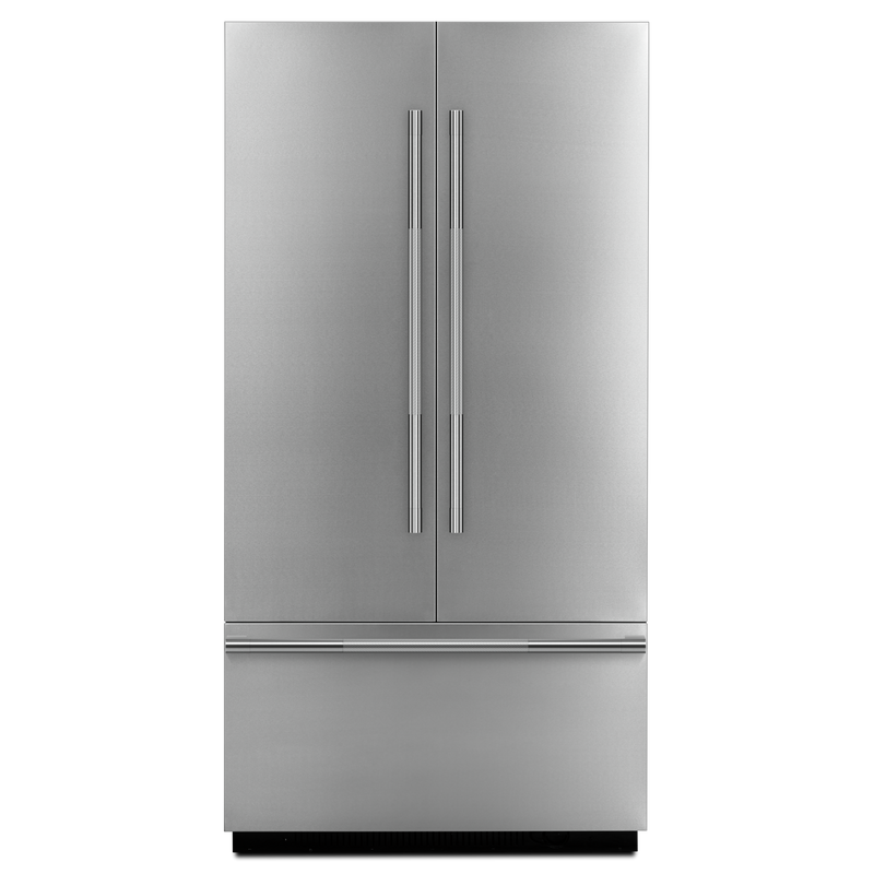 "Rise™ 42"" (106.7 cm) Fully Integrated Built-In French Door Refrigerator Panel-Kit JBFFS42NHL"