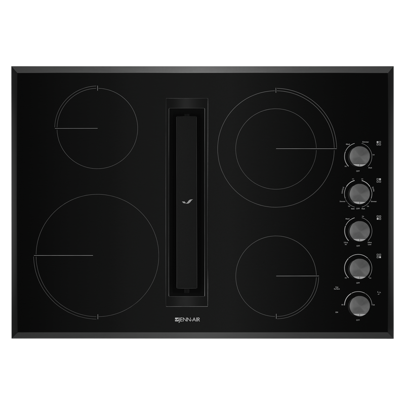 "30"" JX3™ Electric Downdraft Cooktop JED3430GB"