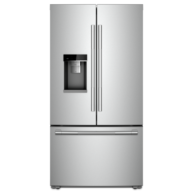 "RISE™ 72"" Counter-Depth French Door Refrigerator with Obsidian Interior JFFCC72EHL"