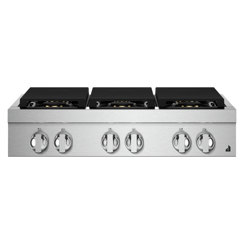 "36"" RISE™ Gas Professional-Style Rangetop JGCP436HL"