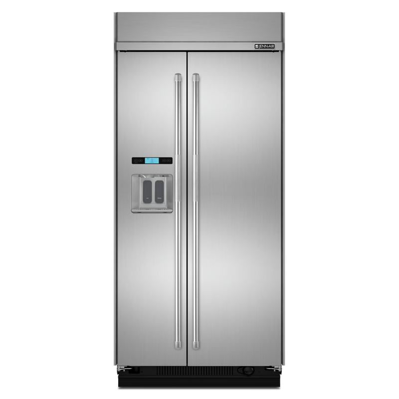42-Inch Built-In Side-by-Side Refrigerator with Water Dispenser JS42PPDUDE