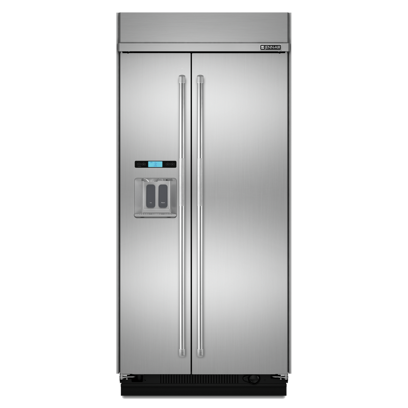 48-Inch Built-In Side-by-Side Refrigerator with Water Dispenser JS48PPDUDE