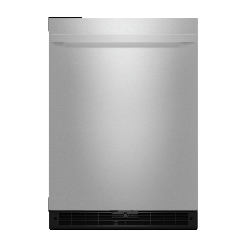 "NOIR™ 24"" Under Counter Solid Door Refrigerator, Left Swing JURFL242HM"