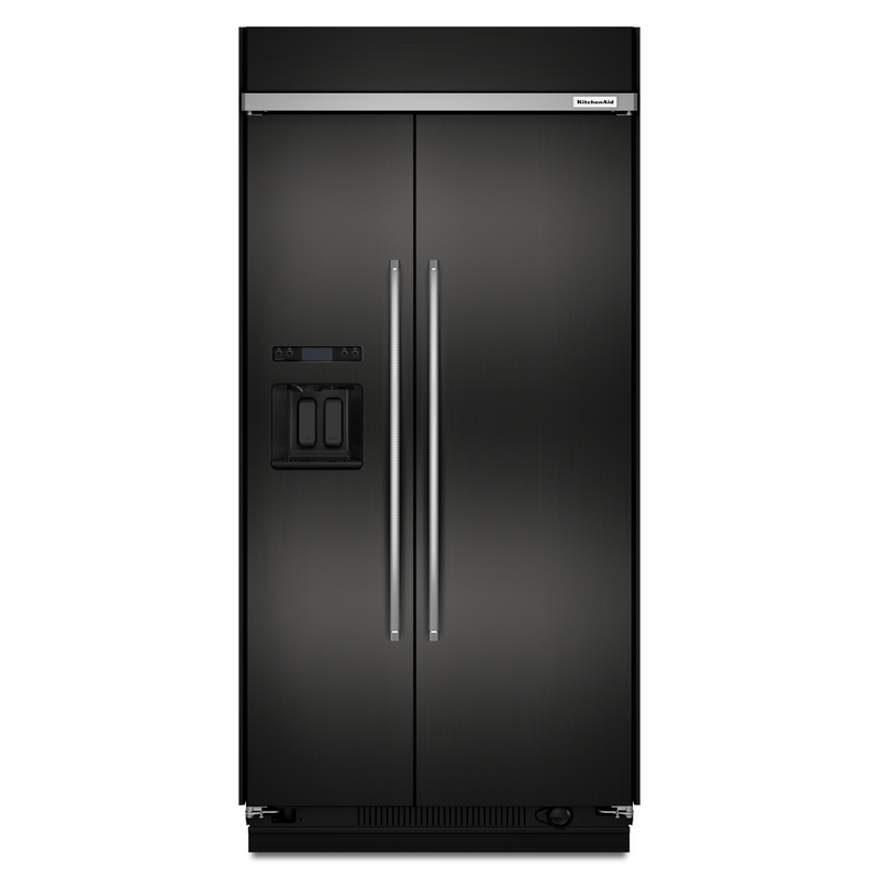 29.5 cu. ft 48-Inch Width Built-In Side by Side Refrigerator with PrintShield™ Finish KBSD608ESS