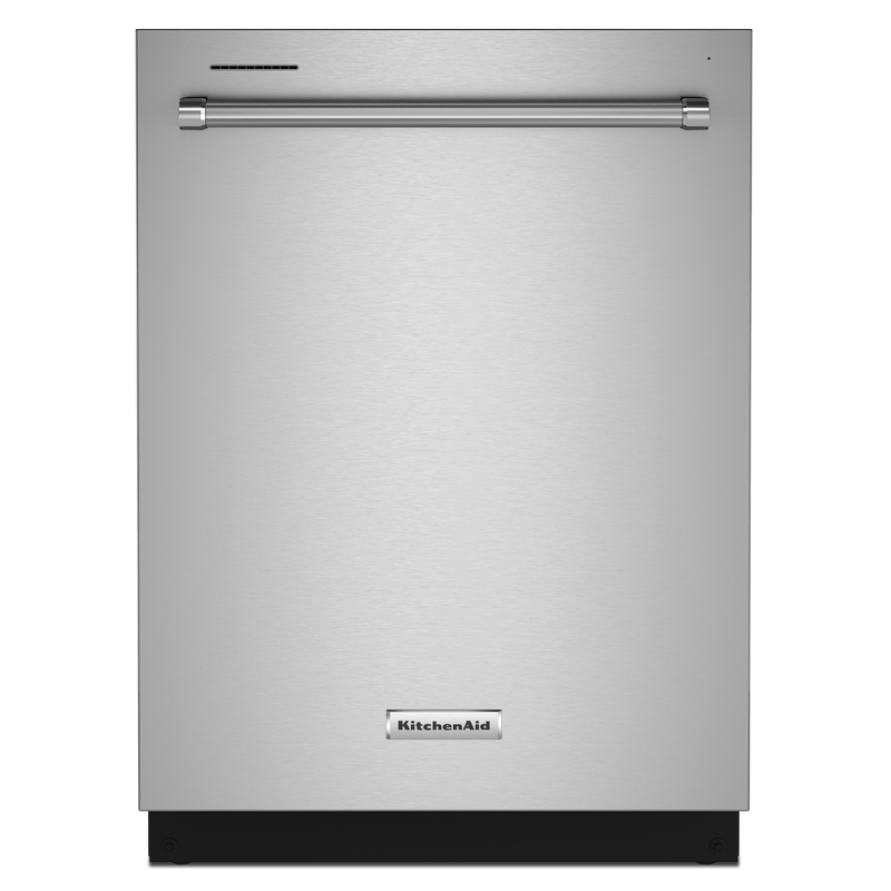 KitchenAid® 39 dBA Dishwasher in PrintShield™ Finish with Third Level Utensil Rack KDTE204KBS
