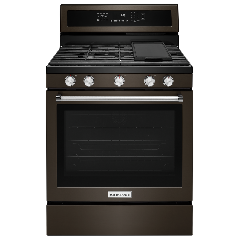 30-Inch 5-Burner Gas Convection Range KFGG500ESS